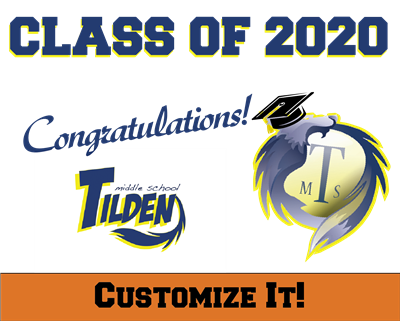 Custom TMS 2020 Grad Sign 1