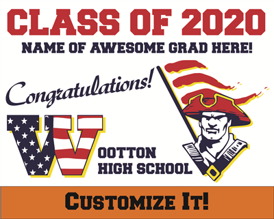 Custom WHS 2020 Grad Sign 1